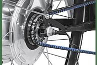TECHNIBIKE Cooper E Disc Urbanbike (28 Zoll, 52 cm, Diamant, 160 Wh, Weiß Matt)
