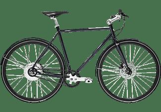 TECHNIBIKE Cooper E Disc Urbanbike (28 Zoll, 52 cm, Diamant, 160 Wh, Monza Blau)
