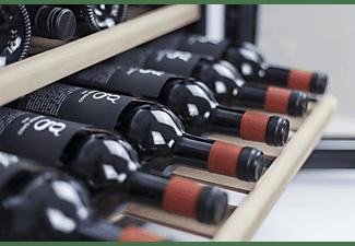 CASO 628 WineSafe 18 EB Weinklimaschrank (EEK G, Schwarz)