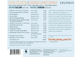 John Kitchen - John Kitchen plays British Light Music  - (CD)