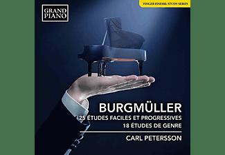 Carl Petersson - 25 Etudes faciles et progressives  - (CD)
