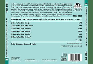 Peter Sheppard-skaerved - 30 Sonate piccole,Vol.5.  - (CD)