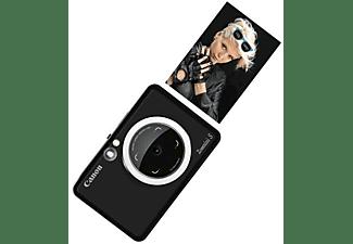 Cámara instantánea - Canon Zoemini S B, 8 MP, 314 x 600 ppp, 10 hojas, Bluetooth, MicroSD, Negro