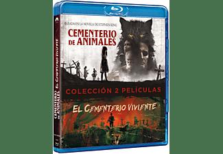 Pack Cementerio viviente (1989) + Cementerio de animales (2019) - Blu-ray