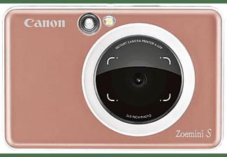 Cámara instantánea - Canon Zoemini S P, 8 MP, 314 x 600 ppp, 10 hojas, Bluetooth, MicroSD, Rose gold