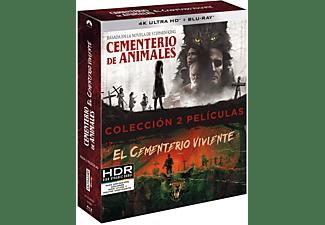 Pack Cementerio viviente (1989) + Cementerio de animales (2019) - 4K UHD + Blu-ray