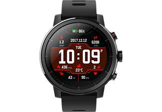 AMAZFIT Stratos Smartwatch Polykarbonat Silikon, 195 mm, Black