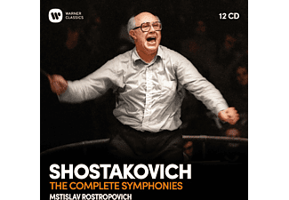 VARIOUS - COMPLETE SYMPHONIES  - (CD)