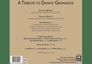 Fidelis String Quartet - A Tribute to Danny Granados  - (CD)