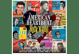 VARIOUS - AMERICAN HEARTBEAT ROCK..  - (CD)