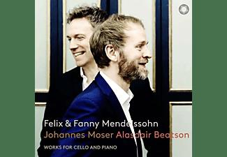 Moser,Johannes/Beatson,Alasdair - Werke für Cello und Klavier  - (SACD)