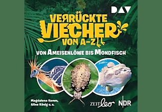 Hamm,Magdalena,  König,Aline - Verrückte Viecher von A bis Z  - (CD)