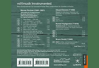 Werner Pirchner, Eduard Demetz, Romed Hopfgartner - Volxmusik instrumented  - (CD)