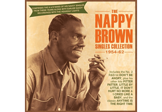 Nappy Brown - Nappy Brown Singles Collection 1954-62  - (CD)