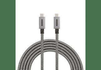 SITECOM CA-002 USB Kabel, Weiß/Schwarz