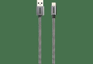SITECOM CA-004 USB Kabel, Weiß/Schwarz