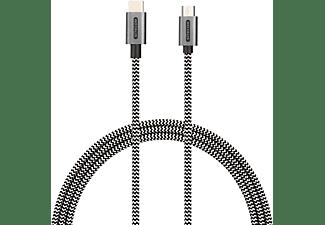 SITECOM CA-034 Micro USB Kabel, Weiß/Schwarz