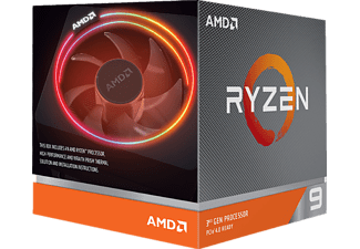 AMD Ryzen™ 9 3900X (100-100000023BOX) mit Wraith Prism Kühler Prozessor, Mehrfarbig
