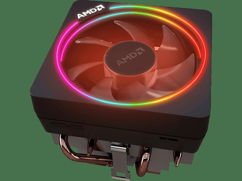 AMD Ryzen™ 7 3700X (100-100000071BOX) mit Wraith Prism Kühler Prozesssor, Mehrfarbig
