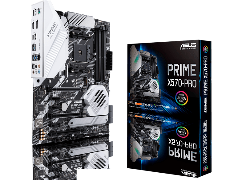 ASUS Prime X570 Pro Mainboard Mehrfarbig