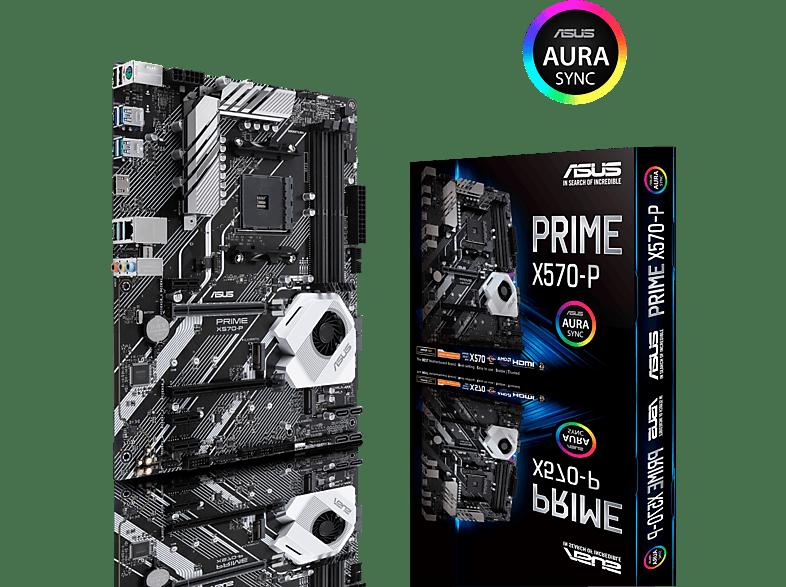ASUS Prime X570 P Mainboard Mehrfarbig