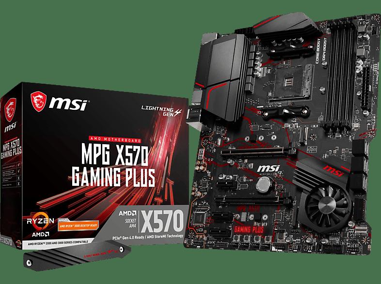 MSI MPG X570 Gaming Plus Mainboard Schwarz