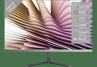 PEAQ Monitor PMO Slim S240, 24 Zoll, grau (PMO S240-IFC)