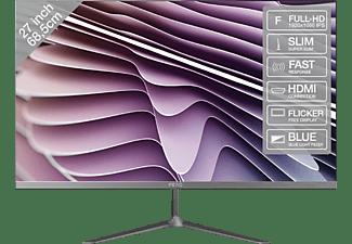 PEAQ Monitor PMO Slim S270, 27 Zoll, grau (PMO S270-IFC)