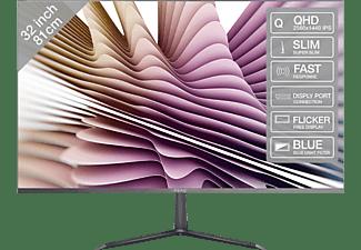 PEAQ Monitor PMO Slim S320, 32 Zoll, grau (PMO S320-IQC)