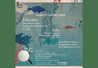 Javier Povedano, Quiteria Muñoz, Juan Carlos Garvayo - 33 Sueños  - (CD)