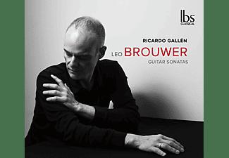 Ricardo Gallen - Brouwer Guitar Sonatas  - (CD)