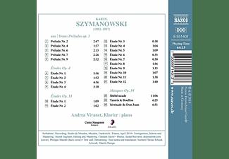 Andrea Vivanet - Werke für Klavier von Karol Szymanow  - (CD)