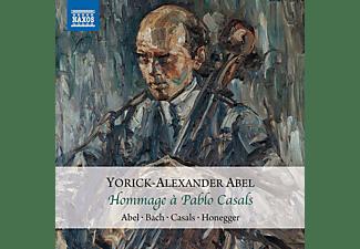 Yorick-Alexander  Abel - Hommage á Pablo Casals  - (CD)