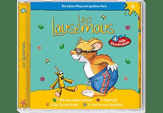 Leo Lausemaus (11) - 4 süße Geschichten  - (CD)