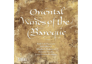 Nystrom/Okland/Holmertz/+ - Oriental Winds of the Baroque  - (CD)