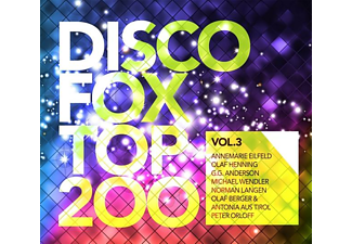 VARIOUS - Discofox Top 200 Vol.3  - (CD)