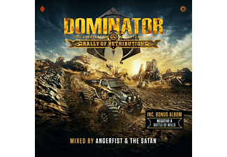 Verschillende Artiesten - Dominator'19 Rally Of Retribution CD