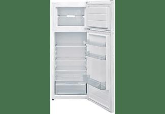 Frigorífico dos puertas - Indesit FRIGO I55TM4110W, 213 l,  Low Frost, 42 dB, Clase A+, Blanco