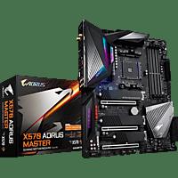 GIGABYTE X570 Aorus Master Mainboard Schwarz