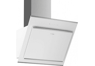 Campana - Bosch DWK67CM20, Decorativa, 416 m³/h, 4 velocidades, 59 cm, B, Blanco