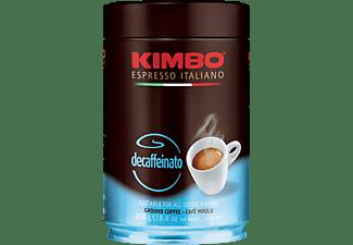 KIMBO Decaffeinato gemahlener Kaffee (Kaffeevollautomaten, Siebträger, Espressokocher)