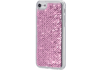 HAMA Paillettes, Backcover, Apple, iPhone X, iPhone XS, Silber/Pink