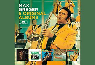 Max Greger - 5 Original Albums  - (CD)