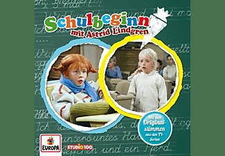 Pippi Langstrumpf - Schulbeginn mit Astrid Lindgren  - (CD)