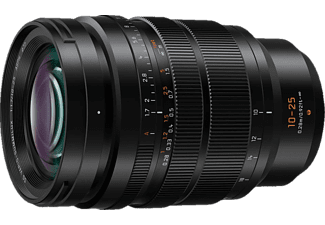 PANASONIC H-X 10 mm - 25 mm f./1.7 DG (Objektiv für Micro-Four-Thirds, Schwarz)