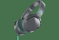 SKULLCANDY RIFF ON-EAR, On-ear Kopfhörer Grau/Türkis