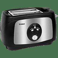TRISA 7321.4712 CRUNCHY TOAST Toaster Schwarz (750 Watt, Schlitze: 2)