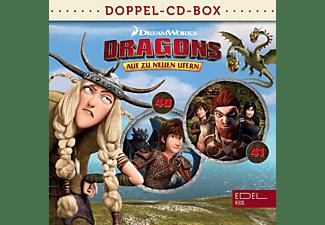 Dragons-auf Zu Neuen Ufern - Dragons-Doppel-Box-Folgen 40+41  - (CD)