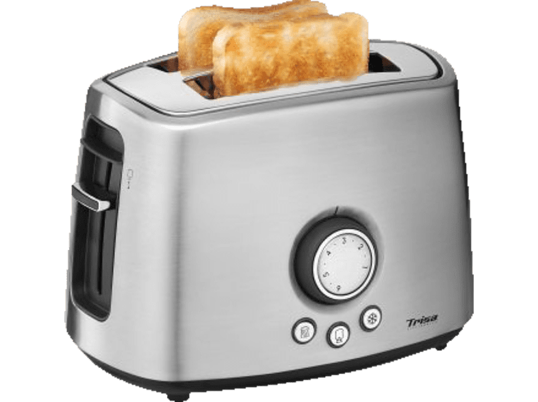 TRISA 7344.7512 MY TOAST Toaster Edelstahl (1000 Watt, Schlitze: 2)