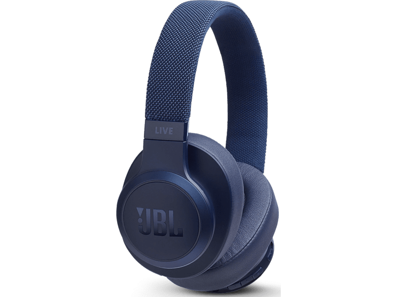 JBL Draadloze hoofdtelefoon + ingebouwde Google Assistant Blauw (JBLLIVE500BTBLU)
